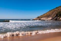 Tropical Brazilian Beach Royalty Free Stock Photography