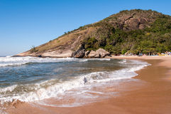 Tropical Brazilian Beach Royalty Free Stock Images