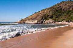 Tropical Brazilian Beach Royalty Free Stock Photos