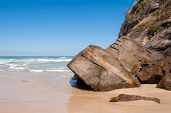 Tropical Brazilian Beach Stock Images