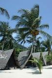 Tropical bungalows. Samui island. Thailand stock photos