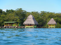 Tropical cabins Stock Photo