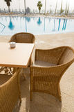 Tropical cafe stock photography