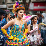 Tropical Carnival in Paris Stock Photography