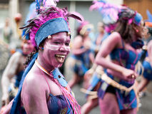 Tropical Carnival in Paris Royalty Free Stock Image
