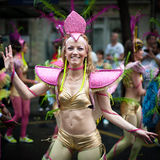 Tropical Carnival in Paris Royalty Free Stock Photos