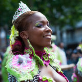 Tropical carnival in Paris stock photos