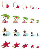 Tropical Christmas Stock Photography