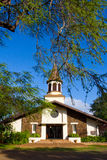 Tropical Church Hawaii Royalty Free Stock Images
