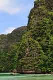 Tropical Cliffs Stock Image