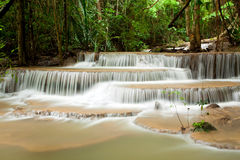 Tropical Climate Waterfall Royalty Free Stock Photos