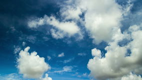 Tropical Clouds 03 stock footage