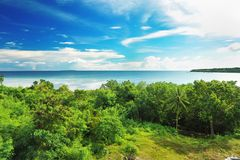 Tropical coast Royalty Free Stock Photography