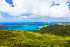 Tropical coast aerial Stock Photos