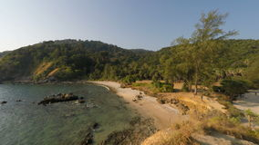 Tropical coast on ko lanta island. Tropical coast of ko lanta island in thailand stock video footage