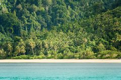 Tropical coastline Stock Photography