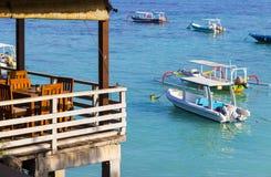 Tropical coastline of Nusa Penida island. Stock Images