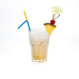 Tropical cocktail Royalty Free Stock Images