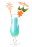 Tropical cocktail with coconut cream Stock Image