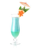 Tropical cocktail with coconut cream Royalty Free Stock Image