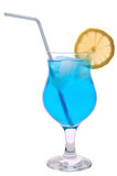 Tropical cocktail with lemon Royalty Free Stock Photo