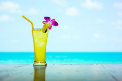 Tropical cocktail Royalty Free Stock Photos