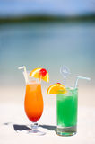Tropical Cocktails Stock Images