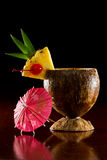 Tropical coconut drink Royalty Free Stock Photography