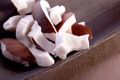 Tropical coconut fruit Stock Photography