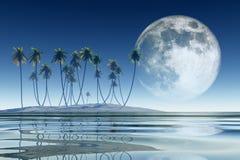 Tropical coconut island Stock Photo