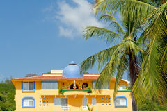 Tropical Condominium Mexico Royalty Free Stock Images