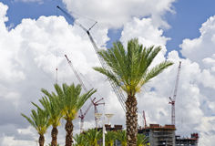 Tropical Construction Site Royalty Free Stock Photo
