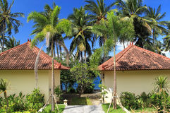 Tropical cottage Royalty Free Stock Photo