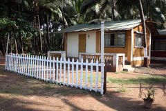 Tropical Cottages Stock Photography