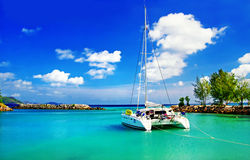 Tropical cruise Stock Images