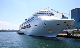 Tropical Cruise Ship, Australia Stock Photos