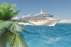 Tropical cruise Royalty Free Stock Photography