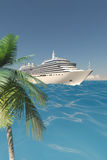 Tropical cruise Stock Image