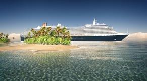 Tropical cruise Stock Photos