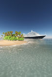 Tropical cruise Royalty Free Stock Image