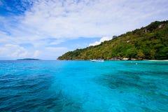 Tropical crystal clear sea, Similan islands, Andaman Stock Image