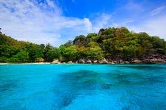 Tropical crystal clear sea, Similan islands, Andaman Stock Images
