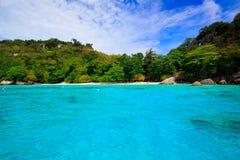 Tropical crystal clear sea, Similan islands, Andaman Stock Photo