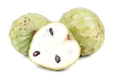 Tropical custard apple fruit Royalty Free Stock Image
