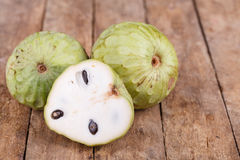 Tropical custard apple fruit Royalty Free Stock Photo