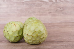 Tropical custard apple fruit Royalty Free Stock Photography