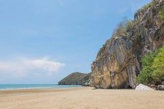 """ tropical de Kalok†do """"Khao da praia em Pranburi, Prachuap Khiri Khan imagens de stock"""