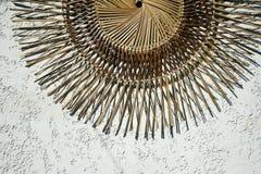 Tropical decoration philippines native art stock image