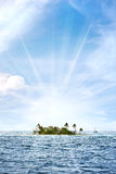 Tropical Desert Island Stock Photos