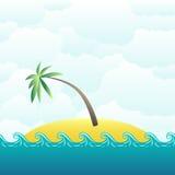 Tropical desert island Stock Photography